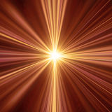 Indicatore luminoso caldo Immagini Stock