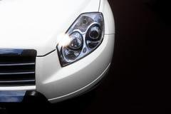 Indicatore luminoso capo dell'automobile Immagini Stock Libere da Diritti