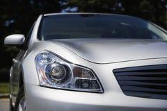 Indicatore luminoso capo e specchio di retrovisione Immagini Stock Libere da Diritti