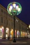 Indicatore luminoso colorato Fotografia Stock
