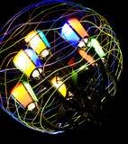 Indicatore luminoso colorato Immagine Stock Libera da Diritti