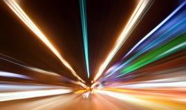 Indicatore luminoso colorato estratto Fotografie Stock
