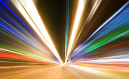 Indicatore luminoso colorato estratto Immagini Stock Libere da Diritti