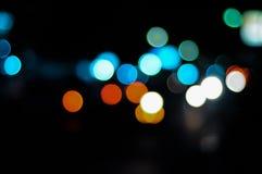Indicatore luminoso confuso fotografia stock libera da diritti