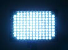 Indicatore luminoso costante per il video, LED Immagini Stock Libere da Diritti