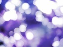 Indicatore luminoso Defocused Fotografia Stock