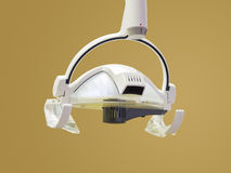 Indicatore luminoso dei dentisti fotografia stock libera da diritti