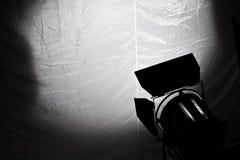 Indicatore luminoso del cinematografo Fotografia Stock Libera da Diritti