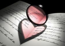 Indicatore luminoso del cuore Fotografia Stock Libera da Diritti