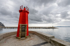 Indicatore luminoso del Mar Rosso Immagine Stock Libera da Diritti