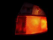 Indicatore luminoso dell'automobile fotografia stock