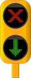 Indicatore luminoso della cabina di tributo Immagini Stock Libere da Diritti