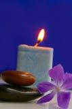 Indicatore luminoso della candela Fotografia Stock