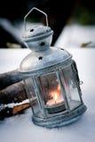 Indicatore luminoso della candela Fotografia Stock Libera da Diritti