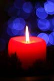 Indicatore luminoso della candela Immagine Stock