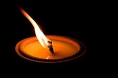 Indicatore luminoso della candela Immagini Stock