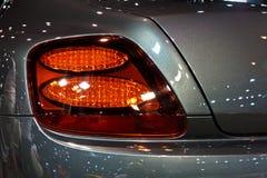 Indicatore luminoso della coda della GT eccellente continentale di sport di BENTLEY Immagine Stock
