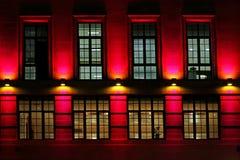 Indicatore luminoso della facciata Immagine Stock Libera da Diritti