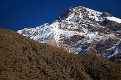Indicatore luminoso della montagna, alto atlante. Fotografia Stock Libera da Diritti