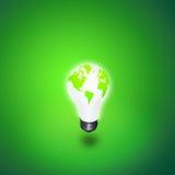 Indicatore luminoso della terra Immagine Stock Libera da Diritti
