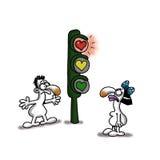 Indicatore luminoso di amore Fotografie Stock Libere da Diritti