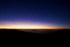 Indicatore luminoso di cielo Immagini Stock