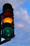 Indicatore luminoso di circolazione Fotografia Stock Libera da Diritti