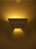 Indicatore luminoso di corridoio illuminato Fotografie Stock Libere da Diritti