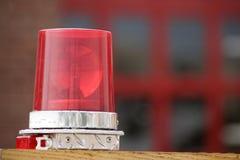 Indicatore luminoso di emergenza Fotografia Stock