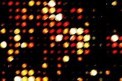 Indicatore luminoso di Grunge