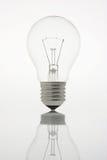 Indicatore luminoso di lampadina Fotografia Stock Libera da Diritti