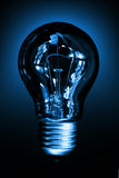 Indicatore luminoso di lampadina Immagini Stock