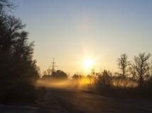 Indicatore luminoso di mattina Immagine Stock