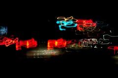 Indicatore luminoso di notte Fotografie Stock