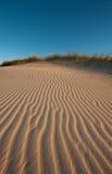 Indicatore luminoso di pomeriggio sulle dune Fotografie Stock Libere da Diritti