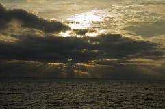 Indicatore luminoso di primo mattino, Acadia NP Immagine Stock Libera da Diritti