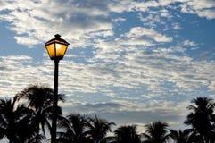 Indicatore luminoso di via Fotografia Stock Libera da Diritti