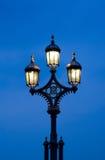 Indicatore luminoso di via dell'annata Fotografia Stock