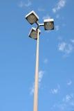 Indicatore luminoso di via sul Lo di parcheggio Immagine Stock Libera da Diritti