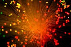 Indicatore luminoso e colore Fotografia Stock