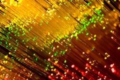 Indicatore luminoso e colore Immagine Stock