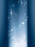 Indicatore luminoso e stelle, vettore illustrazione vettoriale