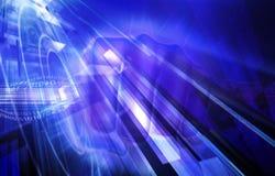 Indicatore luminoso e tecnologia Fotografia Stock