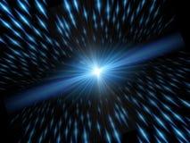 Indicatore luminoso e velocità Immagini Stock