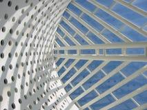 Indicatore luminoso e vetro Fotografia Stock
