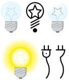 Indicatore luminoso elettrico Fotografia Stock Libera da Diritti