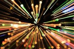 Indicatore luminoso fioco fotografia stock