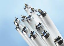 Indicatore luminoso fluorescente Fotografia Stock Libera da Diritti