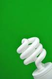 Indicatore luminoso fluorescente compatto (CFL) Fotografia Stock