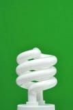 Indicatore luminoso fluorescente compatto (CFL) Fotografie Stock